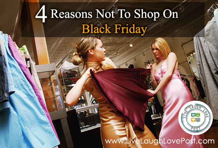 4 Reasons Not To Shop On Black Friday