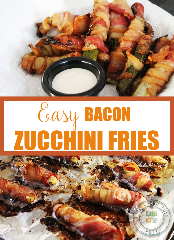 Easy Bacon Zucchini Fries – A  Vegetable Snack for Meat Lovers