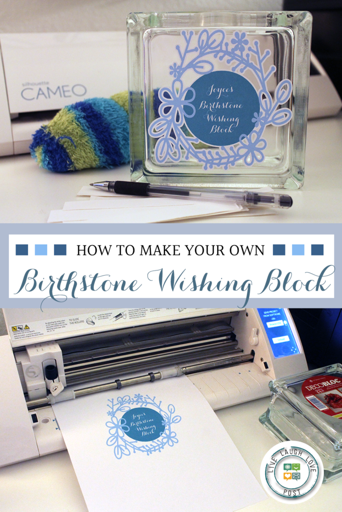 How To Make Your Own Birthstone Wishing Block