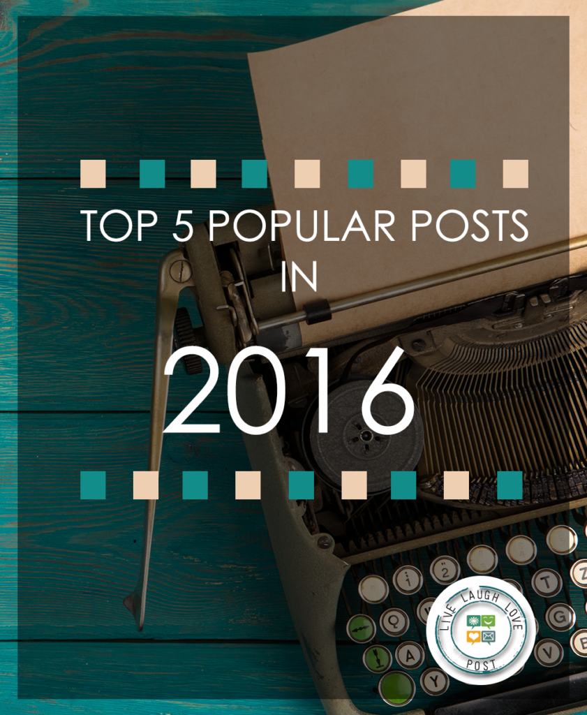 Top 5 Popular Posts in 2016
