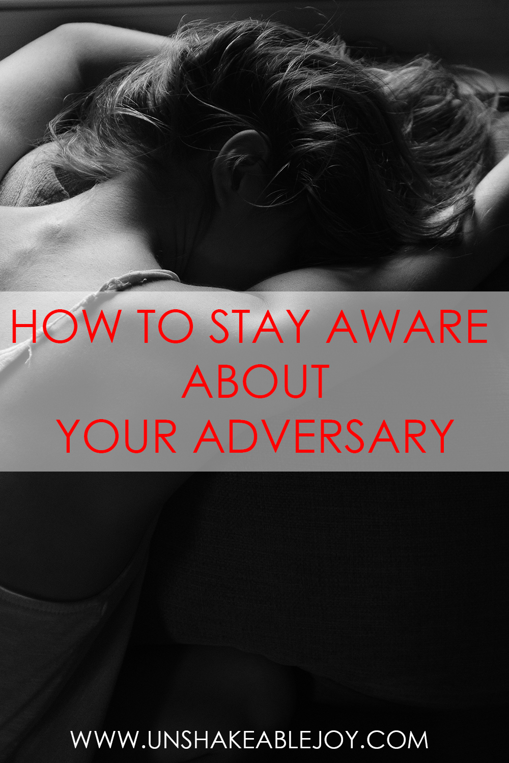 how to stay aware about your adversary