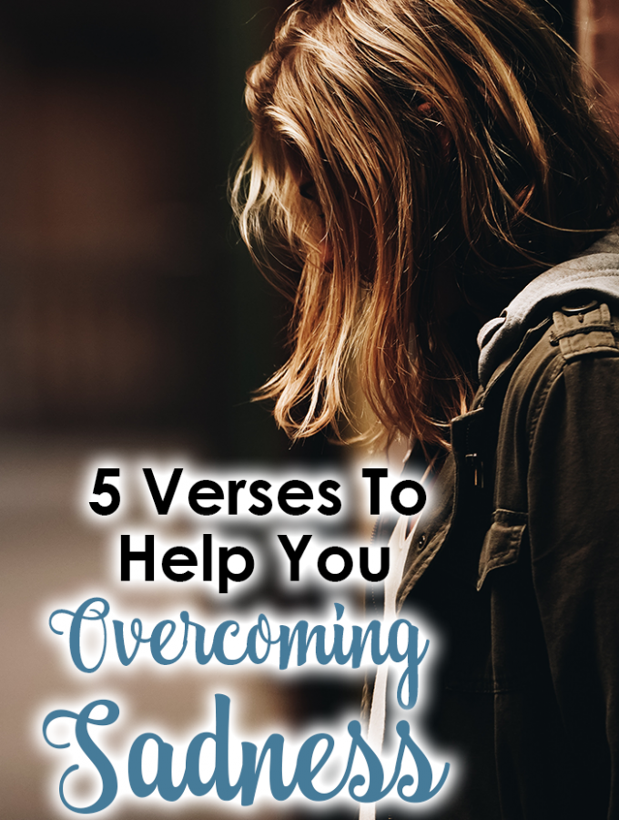 5 Verses To Help You Overcoming Sadness {iHeart Verse Link Party #5}