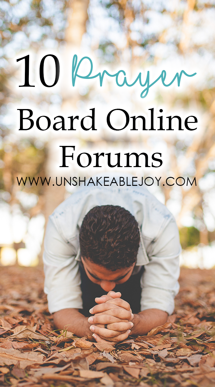 10 prayer board online forums