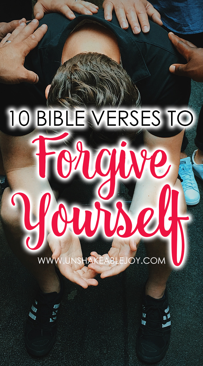 10 bible verses to forgive yourself