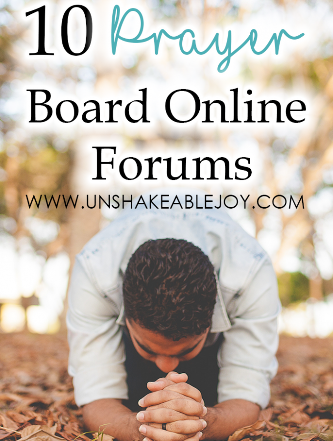 10 prayer board online forums