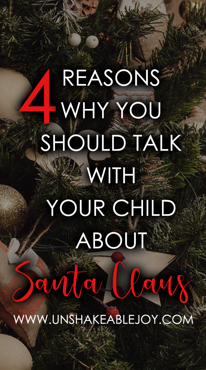 4 reasons why you should talk with your child about santa claus