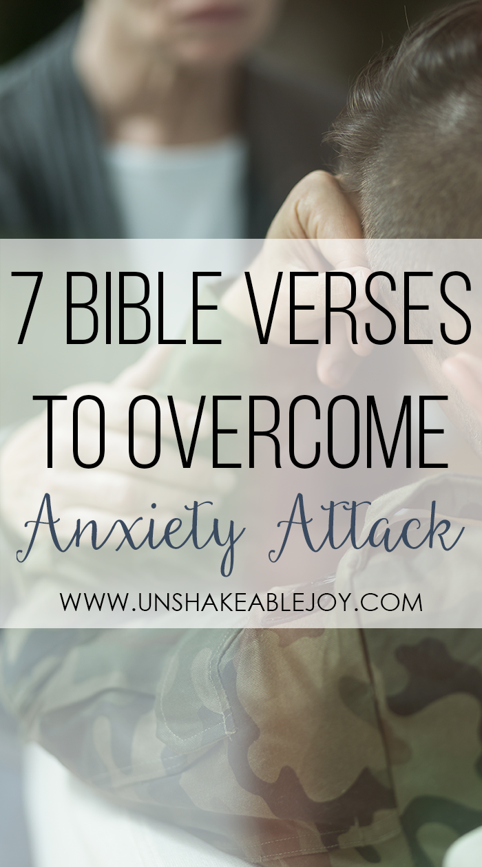 7 Bible Verses To Overcome Anxiety Attack