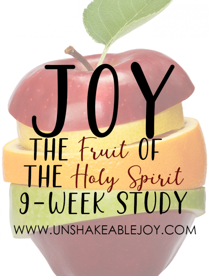 Fruit of the Spirit - JOY