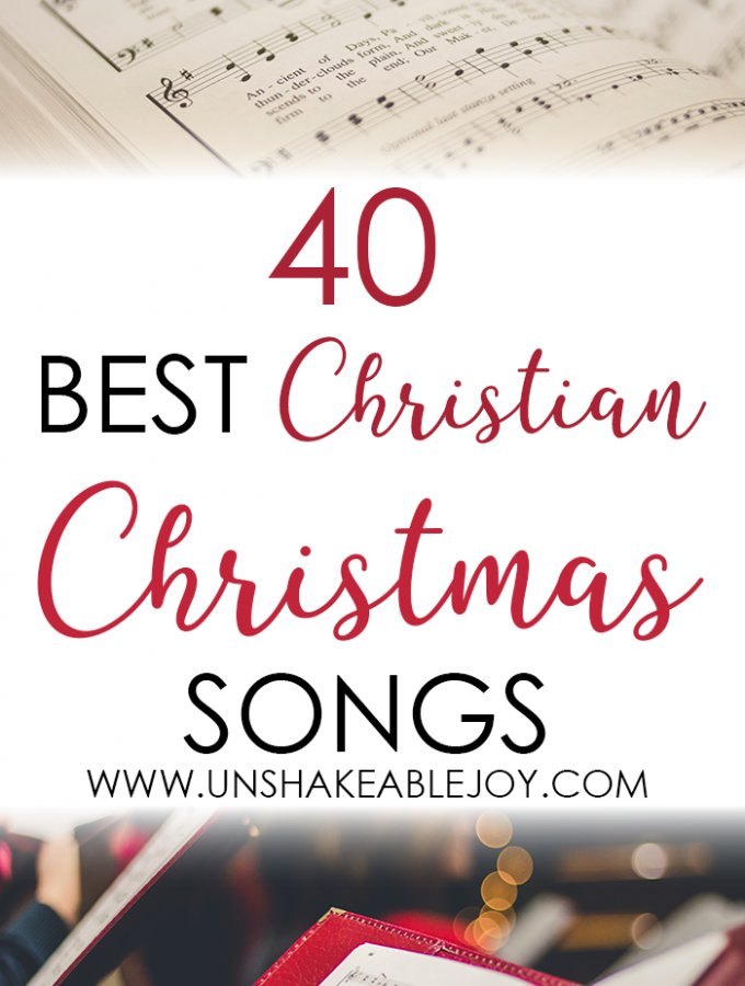 40 Best Christian Christmas Songs