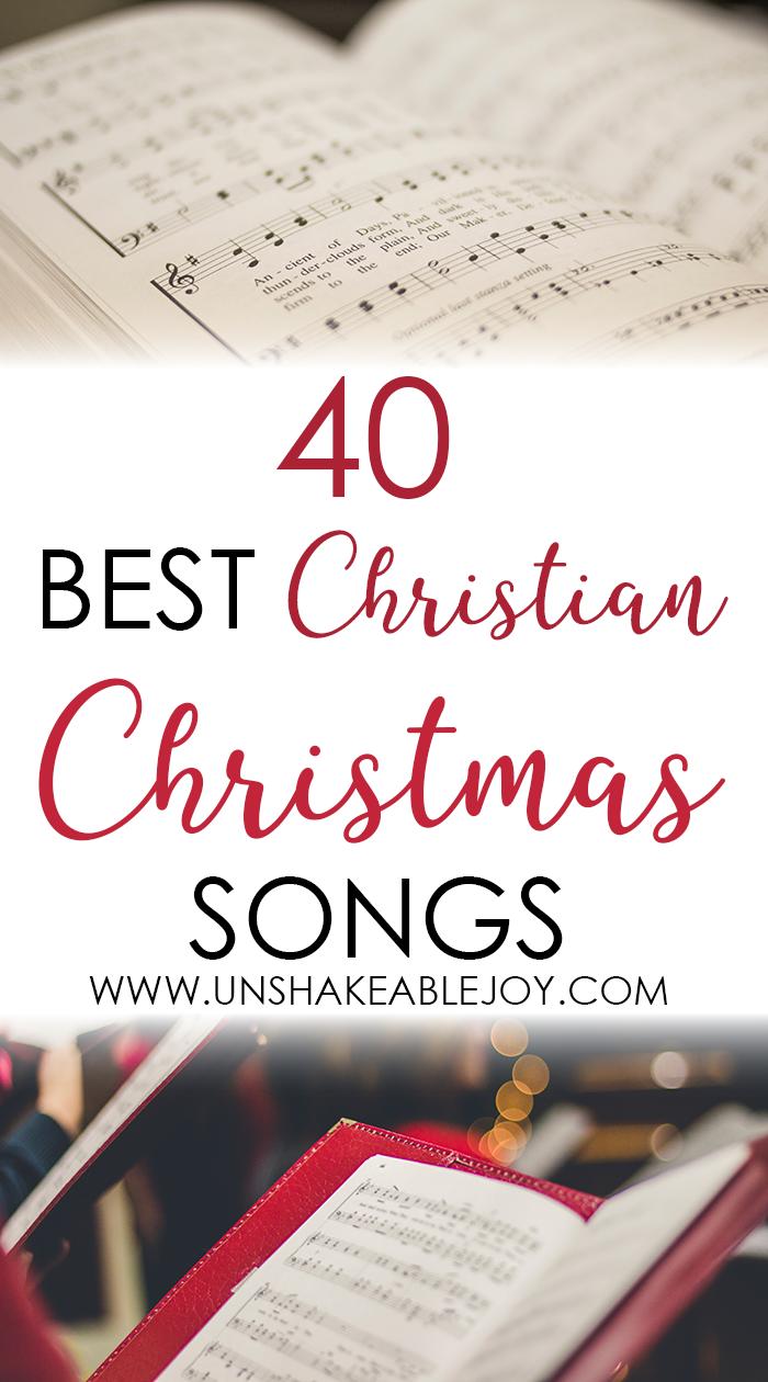 40 Best Christian Christmas Songs