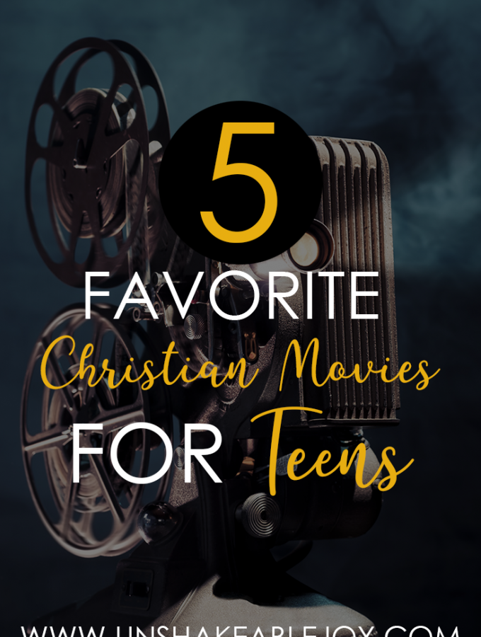 5 favorite christian movies for teens