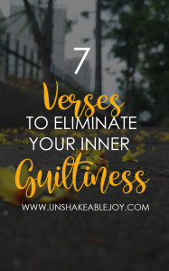 7 verses to eliminate your inner guiltiness