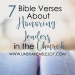 7 bible verses about honoring leaders in the church