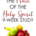 the fruit of the holy spirit